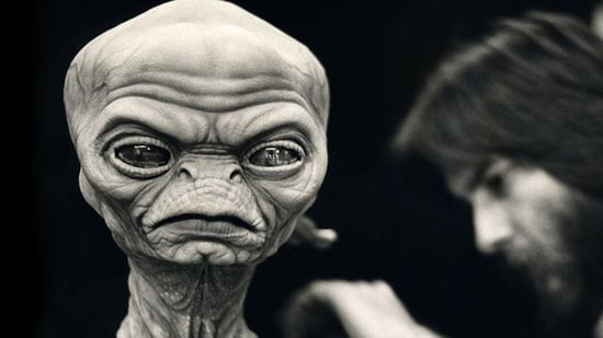 Aliens From Stephen Spielberg's Ill-Fated 'Night Skies' Project Finally Revealed!