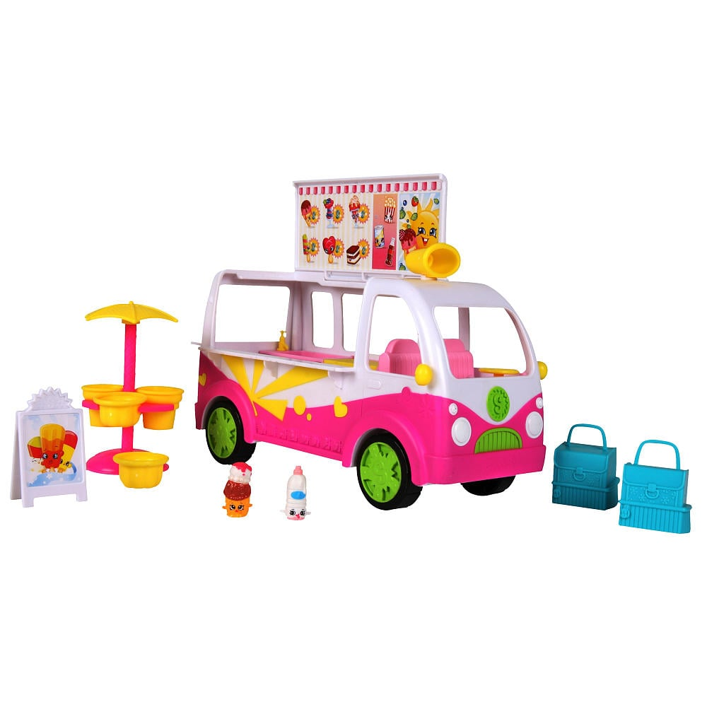 For 7-Year-Olds: Shopkins Season 3 Scoops Ice-Cream Truck Playset