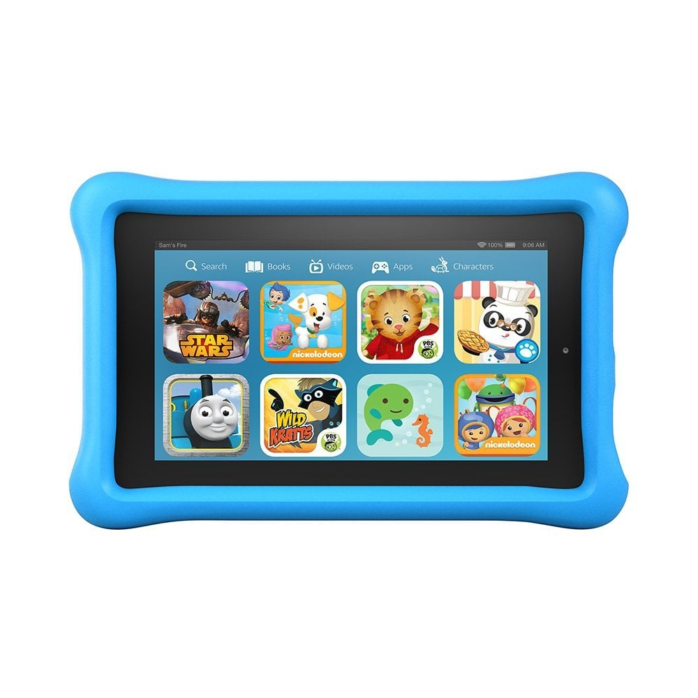 """For 5-Year-Olds: Amazon Fire Kids Edition, 7"""" Display, Wi-Fi, 8 GB"""
