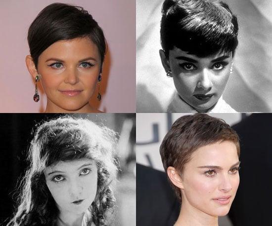 Pictures of Gamine Celebrities