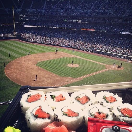 Best Baseball Stadium Food