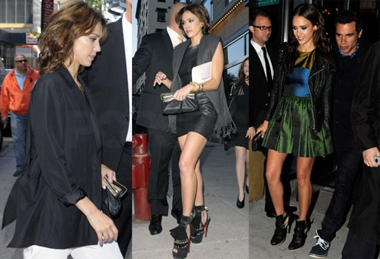 Pictures of Jessica Alba and Cash Warren in New York