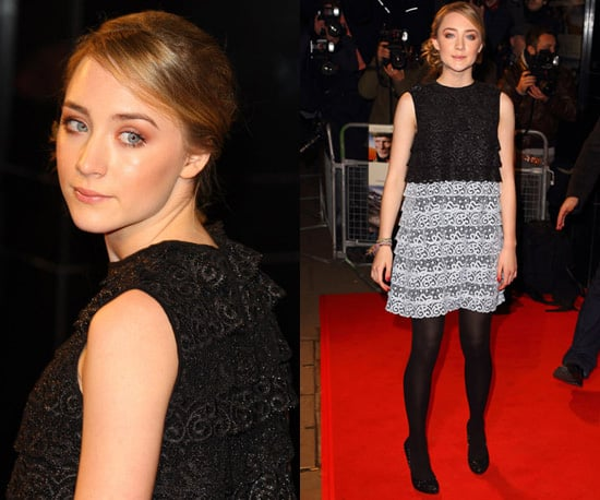 Photos of Saoirse Ronan at the London Premiere of The Way Back