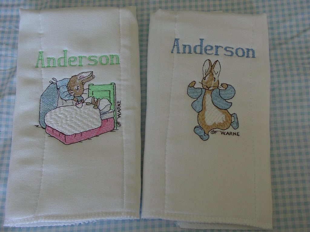 Grandma's Baby Boutique Burp Cloths