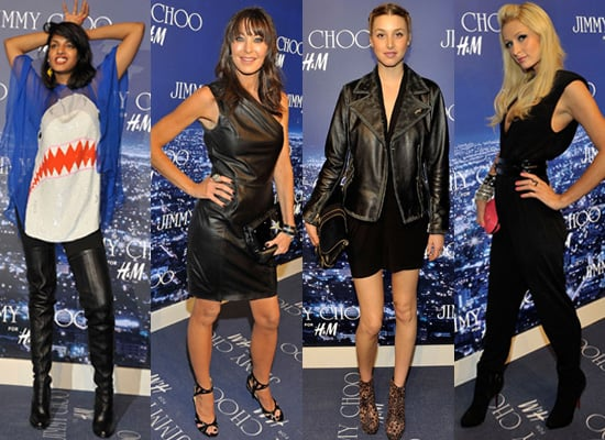 Celebrities Party in West Hollywood for Jimmy Choo for H and M