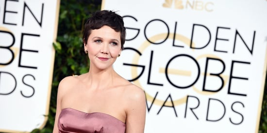Maggie Gyllenhaal Looks Better Than Ever In Strapless Golden Globes Dress