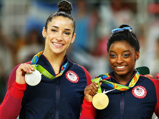 Simone Biles Had a Premonition with Aly Raisman the Morning Before Gymnastics Glory