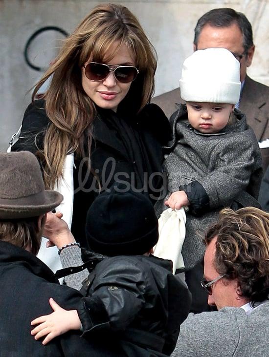 Knox and Vivienne Jolie-Pitt