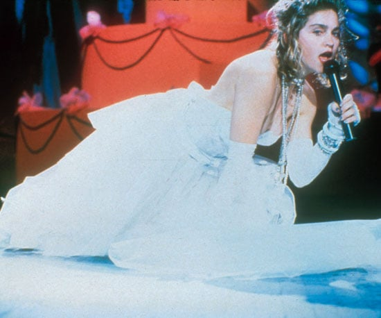 """Madonna performed """"Like a Virgin"""" in 1984 at Radio City Music Hall, at the first Video Music Awards."""