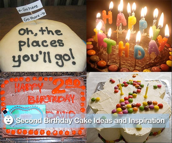 Second Birthday Cake Ideas and Inspiration