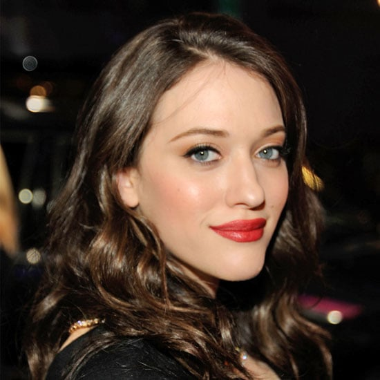 Kat Dennings's Red-Orange Lipstick