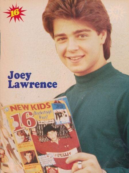 Joey was a bona fide teen heartthrob.