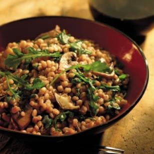 Fast and Easy Recipe for Wild Mushroom and Barley Risotto