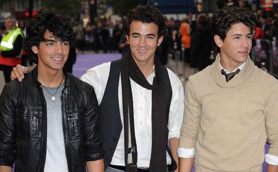 Photos of Kevin Jonas, Joe Jonas, Nick Jonas at The Jonas Brothers 3D Concert Experience Movie UK Premiere in London