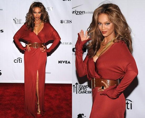 2008 Fashion Rocks: Tyra Banks