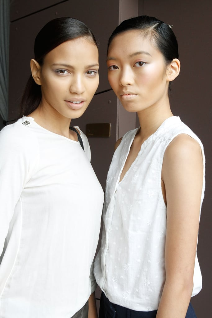 The perfect pair at Azede Jean-Pierre.