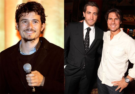 Pictures of Tom Cruise, Jake Gyllenhaal, and Orlando Bloom at Jerry Bruckheimer Film Festival in LA 2010-05-18 13:30:00