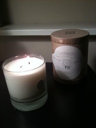 Casa Beta: Linnea's Lights Fir Candle