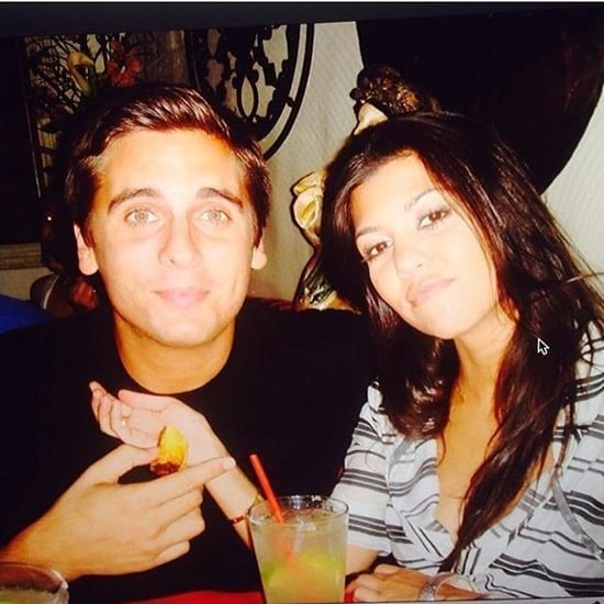 Kourtney Kardashian and Scott Disick Flashback Photo 2016