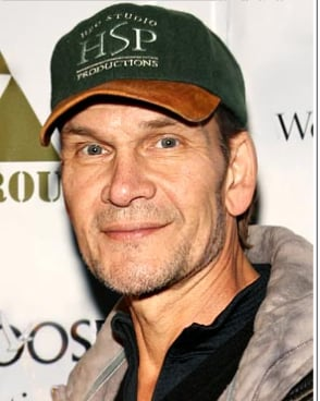 Patrick Swayze Hospitalized for Pneumonia