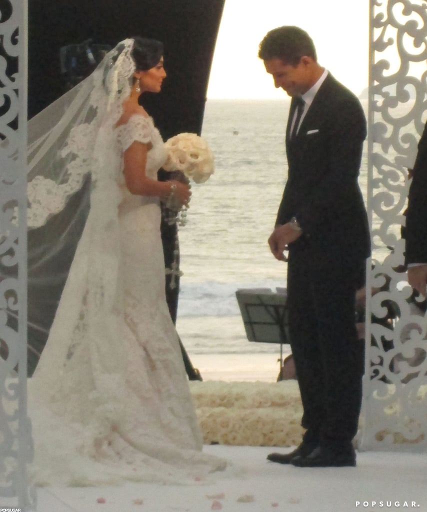Mario Lopez and Courtney Mazza's Wedding Pictures!