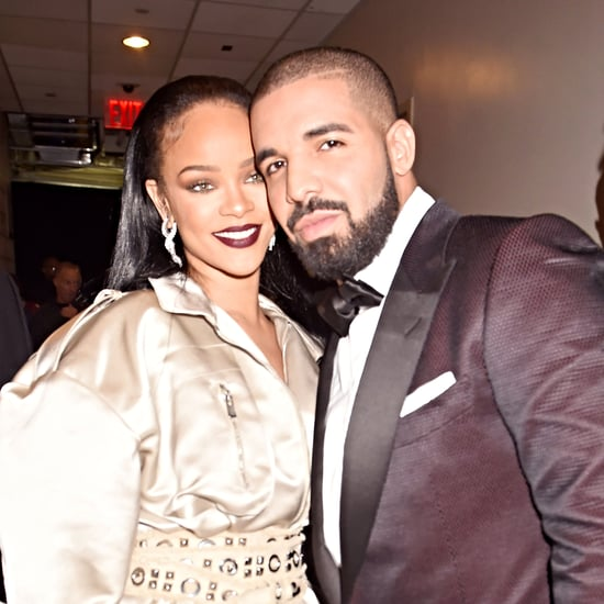 Drake Kissing Rihanna Instagram Photo August 2016