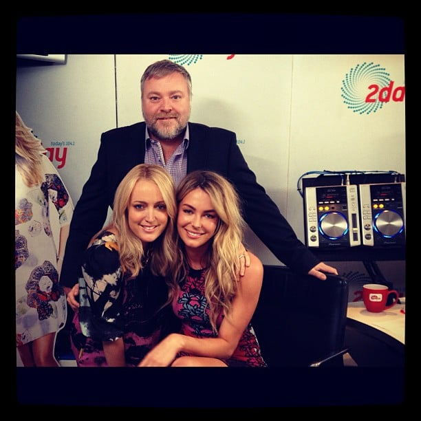 Jennifer Hawkins dropped into the 2DayFM studios to share her news about being the new host of Australia's Next Top Model with Kyle and Jackie O. Source: Instagram user jenhawkins_