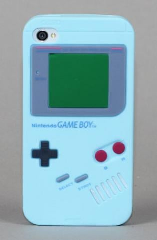 Yamamoto Industries Game Boy iPhone 4/4S Blue Case ($17)