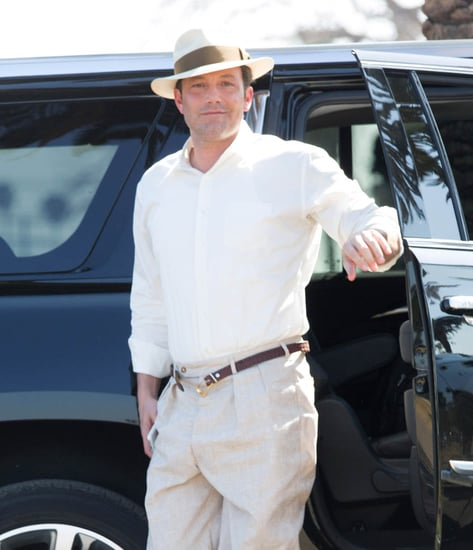 Ben Affleck on set of Live By Night as rumours swirl that he is back in Halifax