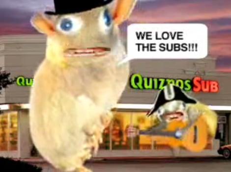 Flashback: Quiznos Sub Ads
