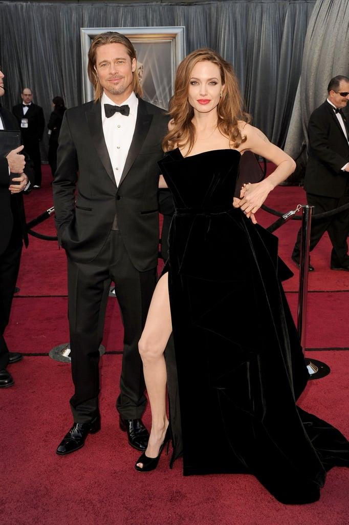 Angelina on Brad