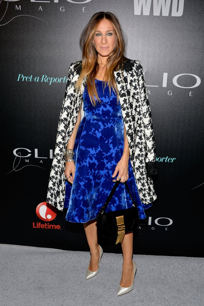 On Wednesday, Sarah Jessica Parker attended the Clio Image Awards in NYC.