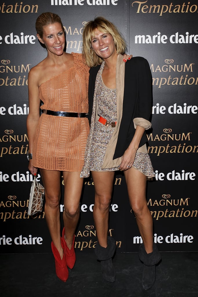 Sarah-Jane Clarke and Heidi Middleton at 2011 the Prix De Marie Claire Awards