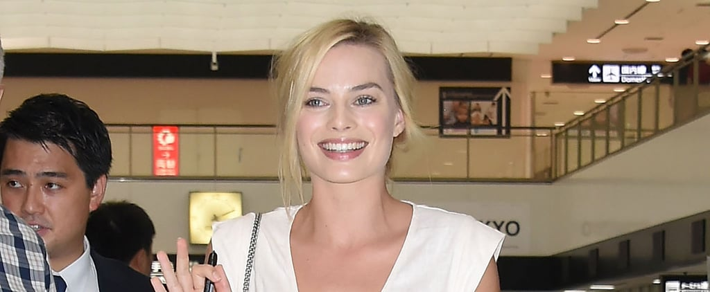 Margot Robbie Just Wore the Prettiest Summer Dress You've Ever Seen — to the Airport