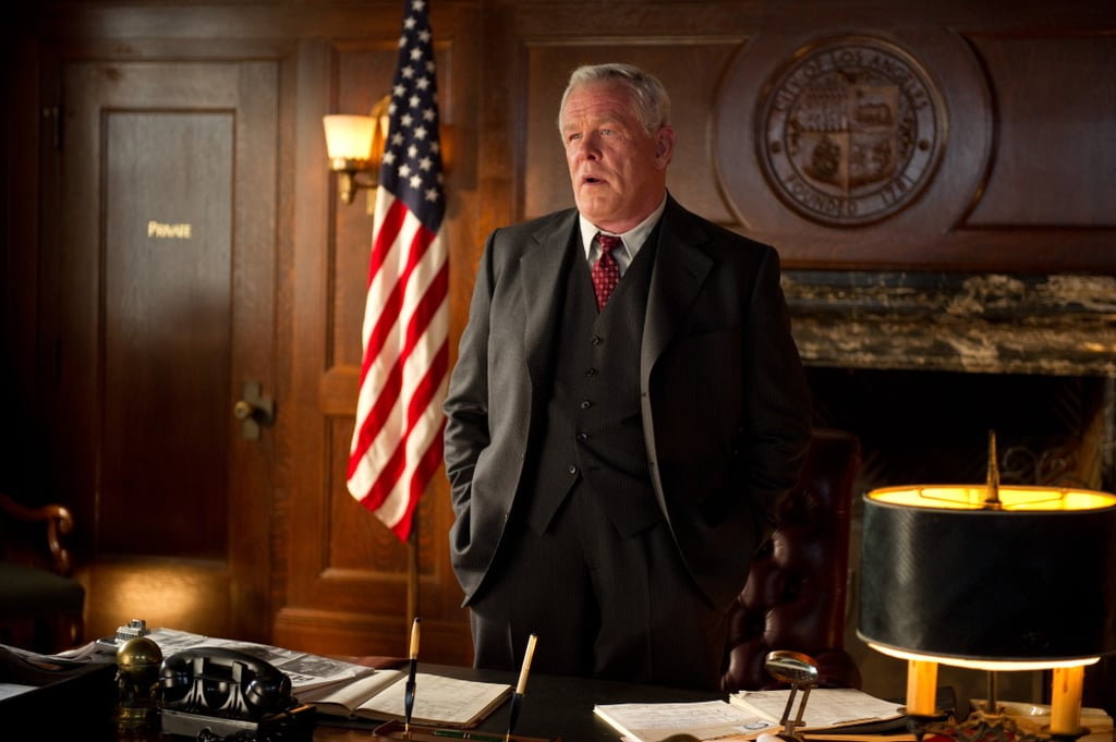 Nick Nolte in Gangster Squad.