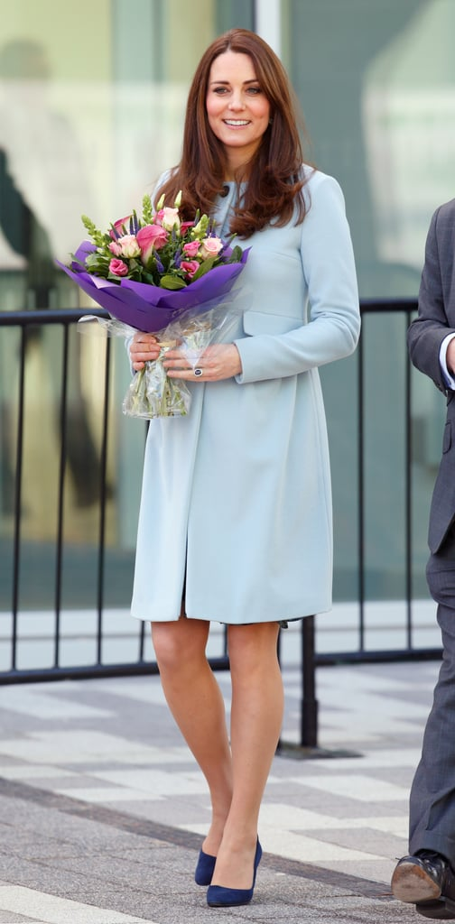 Kate Middleton at the Kensington Leisure Center in 2015
