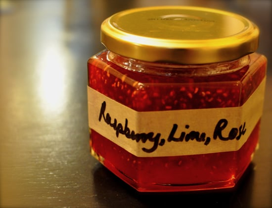Simple Raspberry-Lime Rose Syrup Recipe