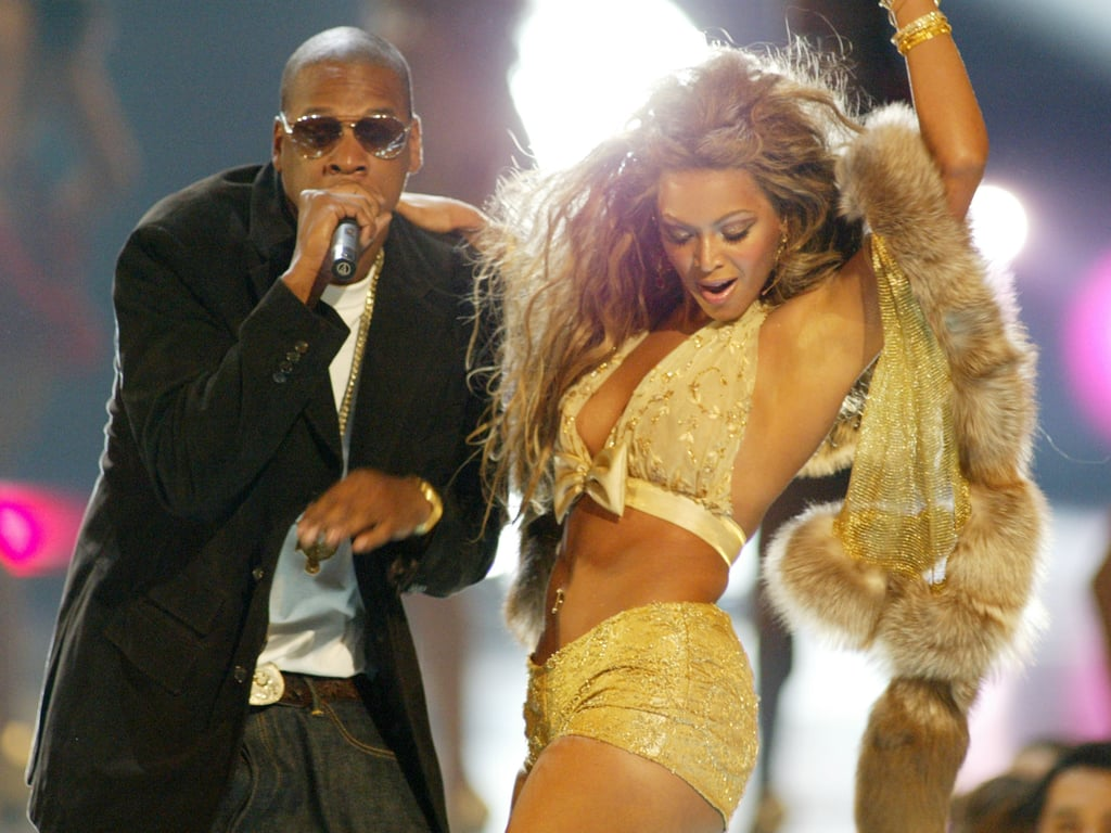 The August 2003 VMAs brought Jay Z and Beyoncé on stage together.