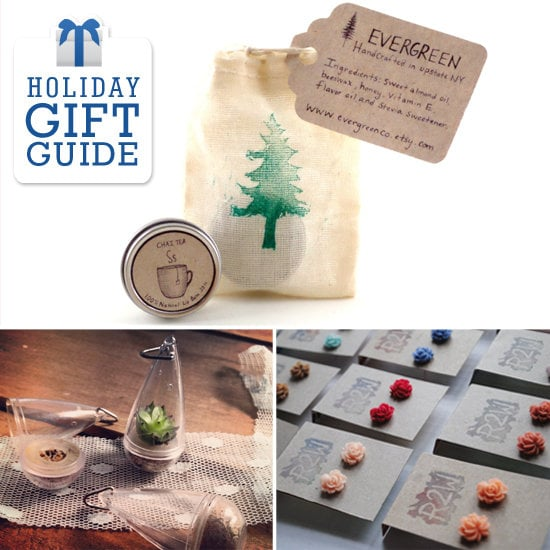 It's always nice to have a small gift for a co-worker or a neighbor (like that cute guy down the hall), and Savvy's collection of $5-or-less Etsy finds is perfect for giving little trinkets this holiday season.