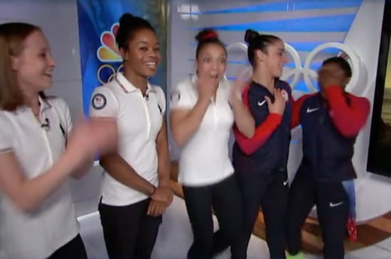 The Faces Of The Olympic Gymnasts When Zac Efron Surprised Them Are The Best Thing Ever