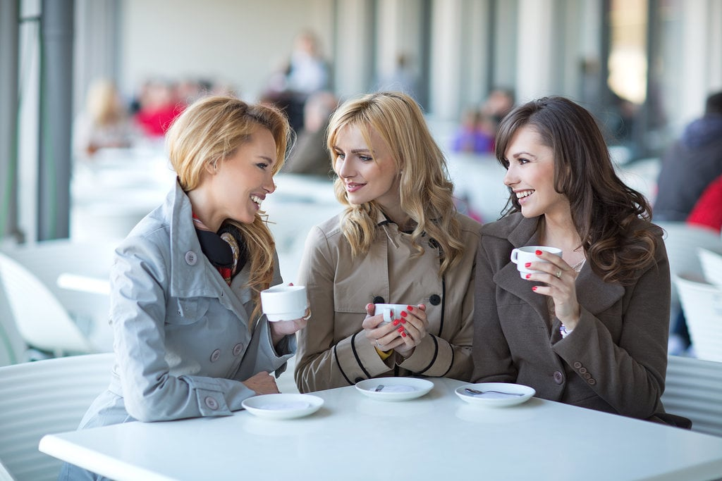 Visit: Spend some time with your nonmom friends