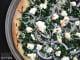 White Spinach Pizza