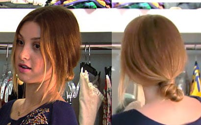 How to Do Whitney Port's Ponytail on Episode Four of The City