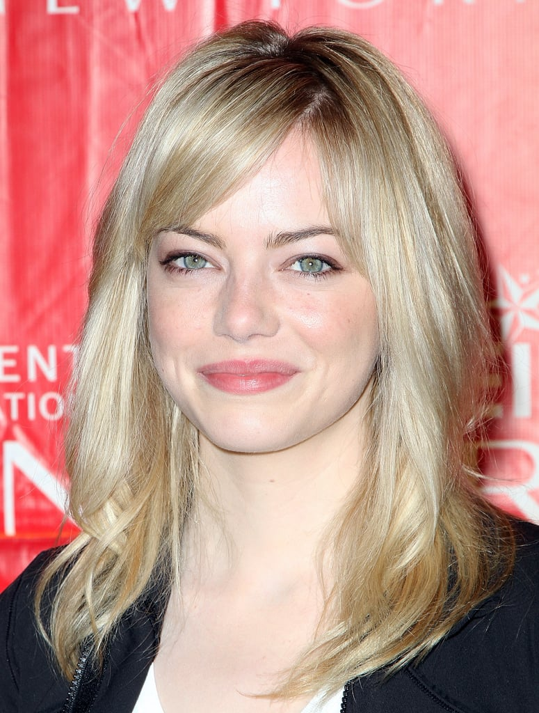 She's gone from red to brown to blond and back again, but natural-blonde Emma Stone claims that crimson is her favorite hair hue.