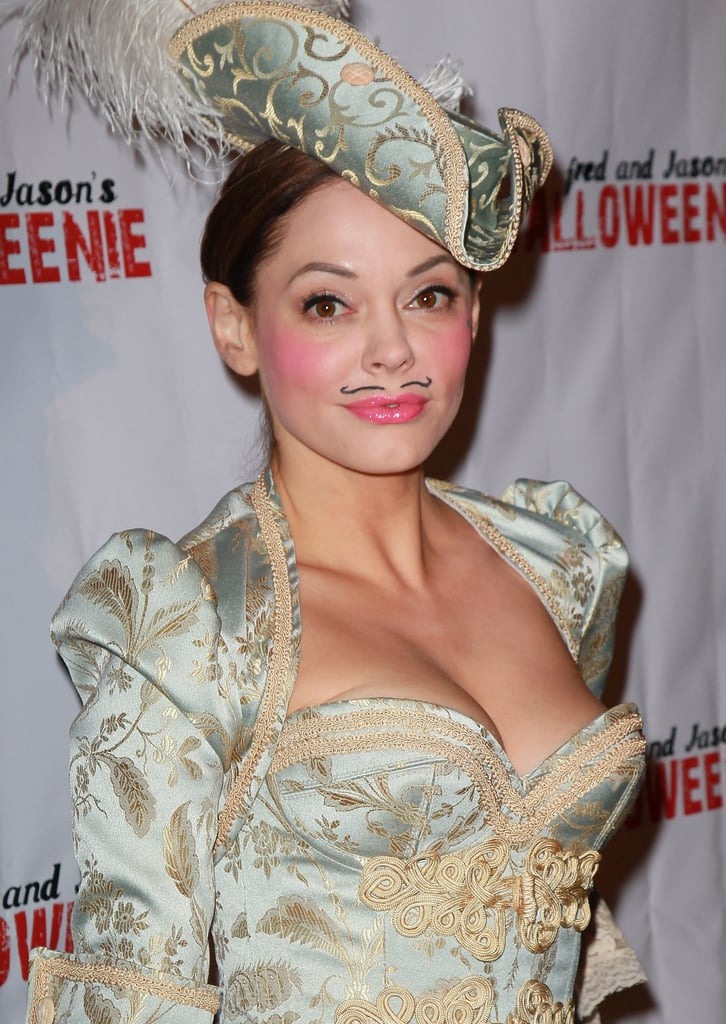 Rose McGowan channeled a Three Musketeers look in 2011.