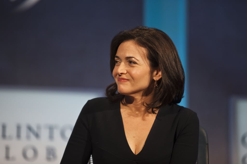 Sheryl Sandberg, COO of Facebook, participated in a panel discussion on Monday.