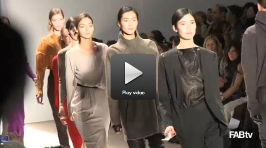 Video of Yigal Azrouel's Fall 2010 New York Fashion Week Collection 2010-02-13 08:58:46