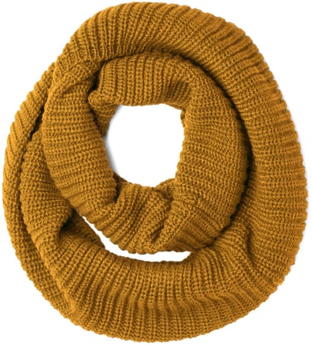 Dressed to Chill Circle Scarf in Mustard