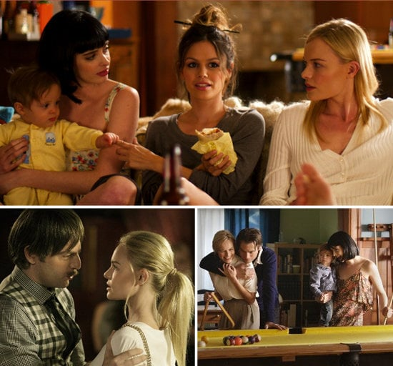 Get a sneak peek at the wardrobe from the upcoming movie L!fe Happens, starring Krysten Ritter, Kate Bosworth, and Rachel Bilson.