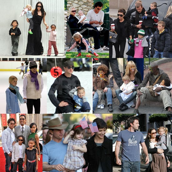 Who Is Your Favorite Celebrity Family of 2008?